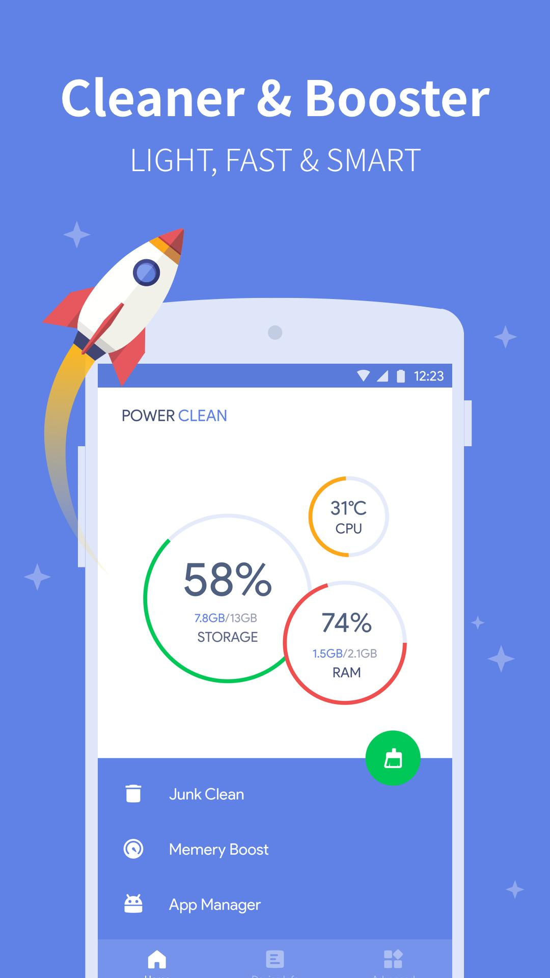 Power Clean for Android - APK Download