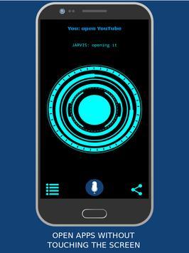 JARVIS - Artificial intelligence & voice assistant تصوير الشاشة 1