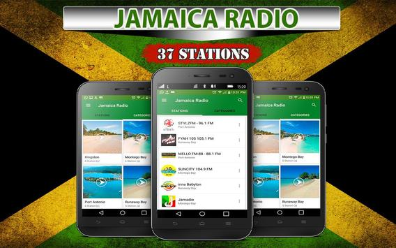 Jamaica Radio Stations poster