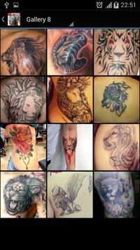 Lion Tattoo screenshot 6