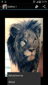 Lion Tattoo screenshot 1