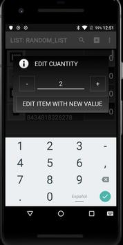 LISTORE: Inventory count screenshot 2