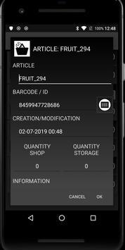 LISTORE: Inventory count screenshot 3