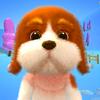 Sprechender Hund Basset Zeichen