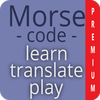 Morse code - learn and play - Premium أيقونة