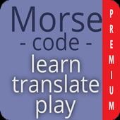 Morse code - learn and play - Premium ikona