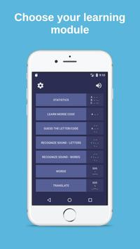 Morse code - learn and play - Premium plakat