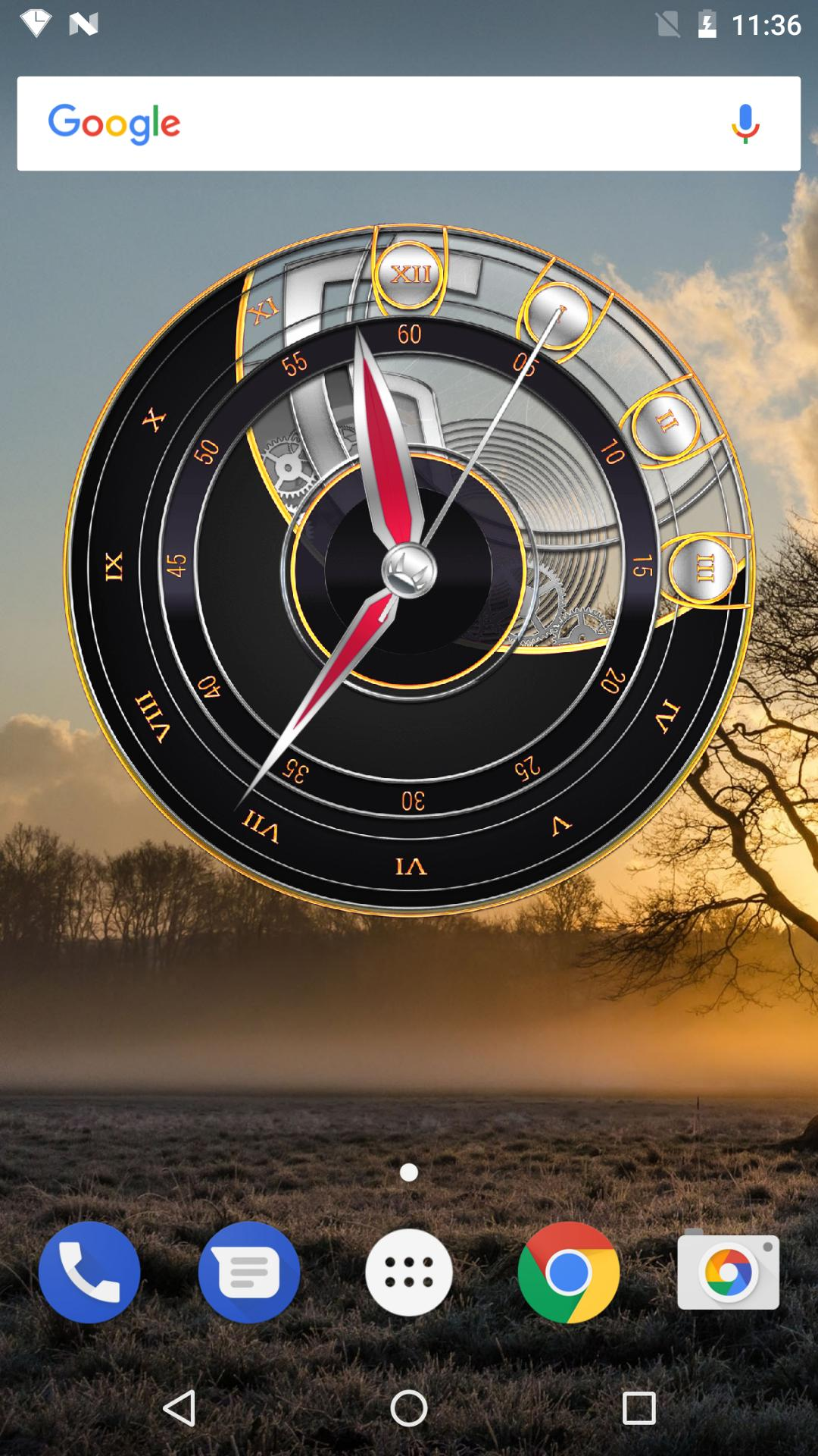 3D Clock Widget with Seconds for Android - APK Download