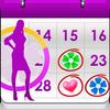 Mein Period Tracker / Kalender Zeichen