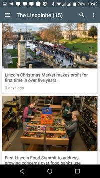 Lincoln free news screenshot 2
