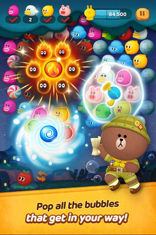 Download] line bubble 2 qooapp game store.