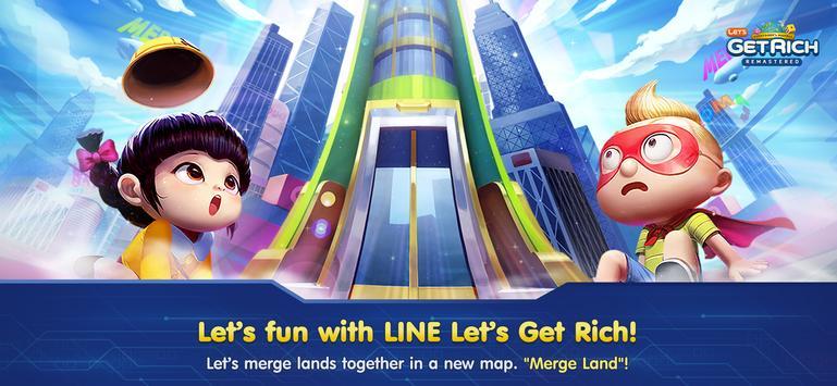 LINE Let's Get Rich poster