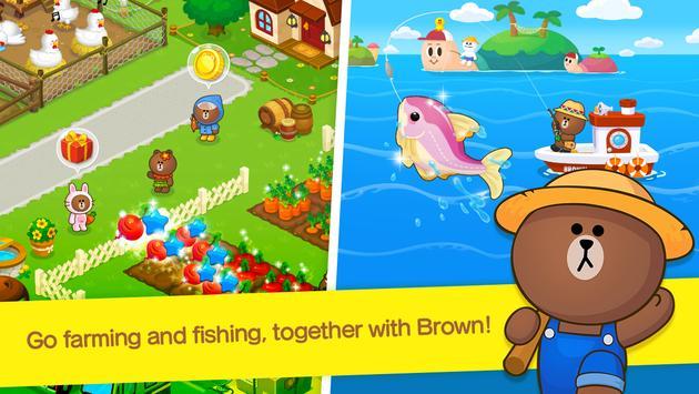 LINE BROWN FARM imagem de tela 2