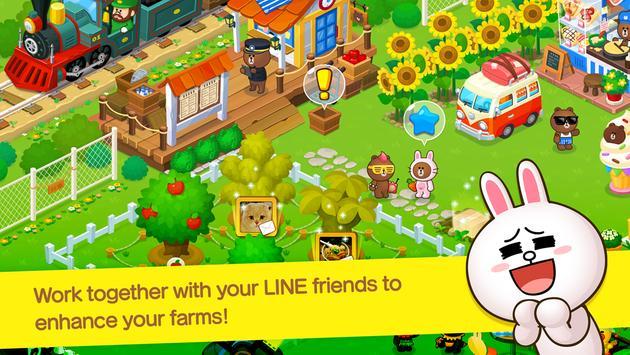 LINE BROWN FARM Ekran Görüntüsü 4