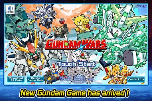LINE: Gundam Wars! Newtype battle! All the MSes! poster