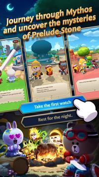 LINE BROWN STORIES : Multiplayer Online RPG imagem de tela 2