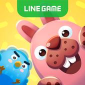 LINE ポコパンタウン-うさぎのポコタと癒し系まちづくり!爽快ワンタップパズルゲーム アイコン