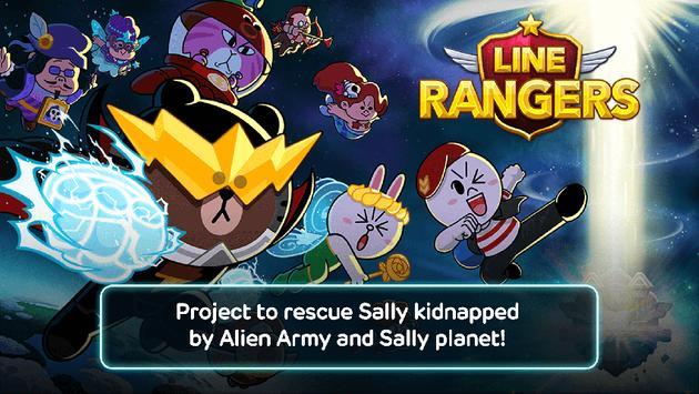 LINE Rangers poster
