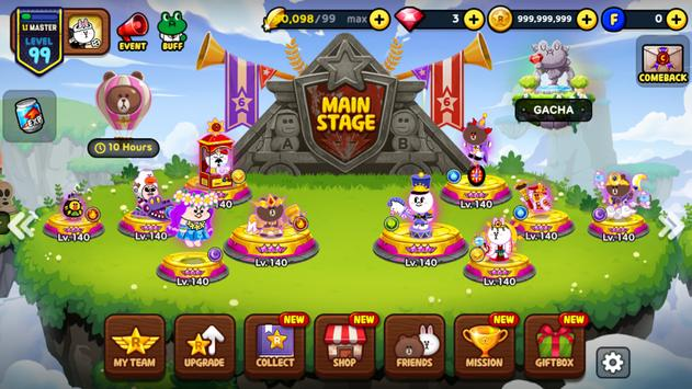 A LINE Rangers/Crayon Shinchan tower defense RPG! 截图 14