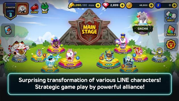 LINE Rangers screenshot 1