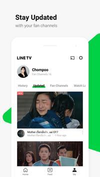 LINE TV captura de pantalla 5