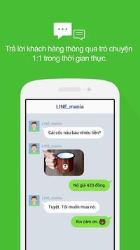 LINE@App (LINEat) ảnh chụp màn hình 1