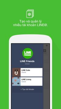 LINE@App (LINEat) ảnh chụp màn hình 2