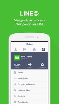 LINE@App (LINEat) poster