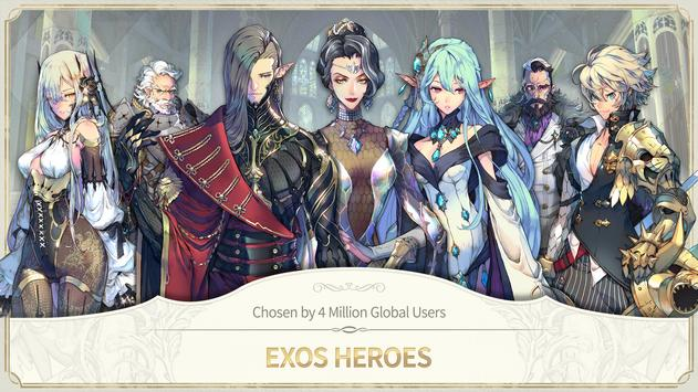 Exos Heroes screenshot 1