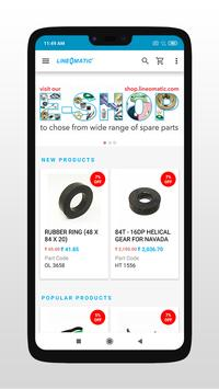 Line O Matic e-shop screenshot 1
