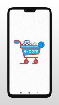 Line O Matic e-shop poster