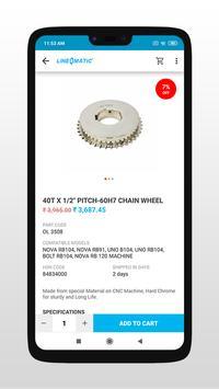 Line O Matic e-shop screenshot 3