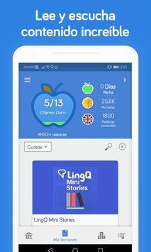 Aprender Idiomas - Ingles, Frances, Aleman - LingQ captura de pantalla 1