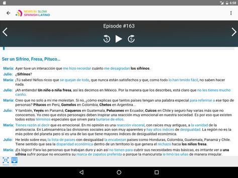 News in Slow Spanish Latino screenshot 8