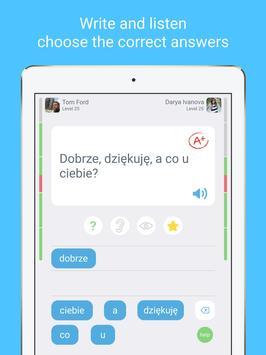 LinGo Play के साथ पोलिश भाषा सीखें। स्क्रीनशॉट 11