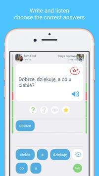 LinGo Play के साथ पोलिश भाषा सीखें। स्क्रीनशॉट 1