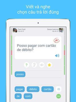 Học Tiếng Bồ Đào Nha với LinGo Play ảnh chụp màn hình 11