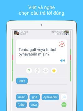 Học tiếng Thổ Nhĩ Kỳ với LinGo Play ảnh chụp màn hình 11