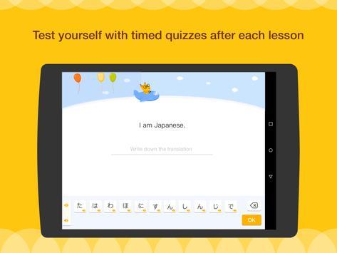 Aprenda Inglês, Espanhol, Japonês ou Coreano imagem de tela 12