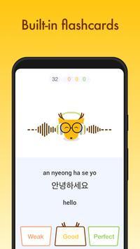 Learn Korean, Japanese, Chinese, Spanish, French + screenshot 5