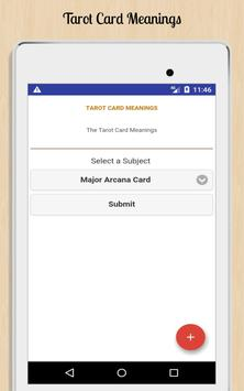 Tarot Card Meanings screenshot 8