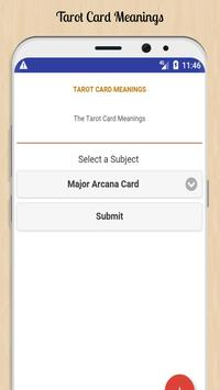 Tarot Card Meanings poster