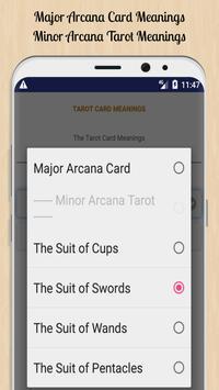 Tarot Card Meanings screenshot 1