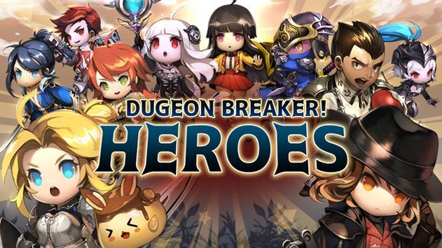 Dungeon Breaker Heroes poster
