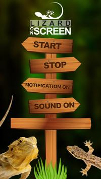 Lizard on Phone Screen: Funny Animation screenshot 4