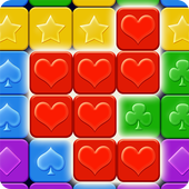 Pop Cubes: Toy Match 3 & Blast icon