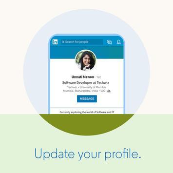 LinkedIn Lite imagem de tela 1