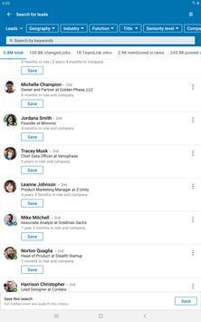 LinkedIn Sales Navigator screenshot 5