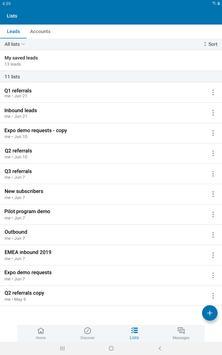 LinkedIn Sales Navigator screenshot 7