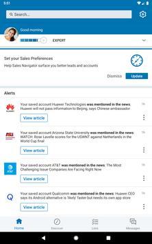 LinkedIn Sales Navigator screenshot 8
